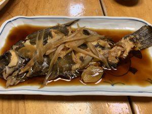 刺身に煮つけ、美味しくいただきました(笑)