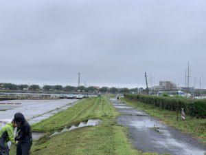 きれいになりました(^^;;ボランティアの皆様、雨の中お疲れ様でした!